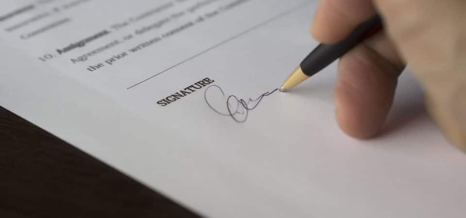 La signature électronique vous permet de gagner du temps !
