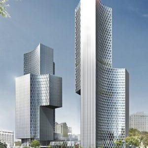 Une construction des bâtiments avec un logiciel VR